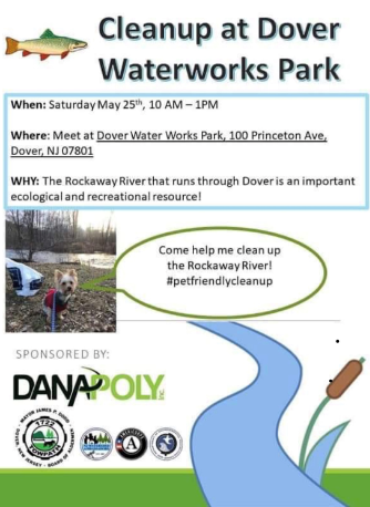 Cleanup At Dover Waterworks Park